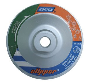 Disco Diamantado de 4.1/2 para Desbaste Clipper - Norton