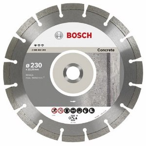 "Disco Diamantado de 9"" Segmentado Concrete - Bosch"