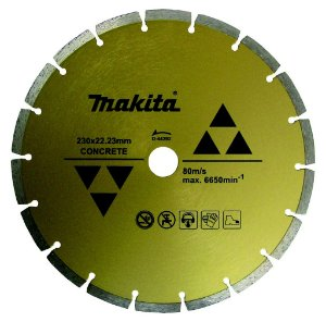 "Disco Diamantado de 9"" Segmentado D-44292 - Makita"