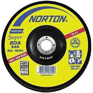 """Disco para Desbaste de 7"""" x 7/8 Super - Norton"""