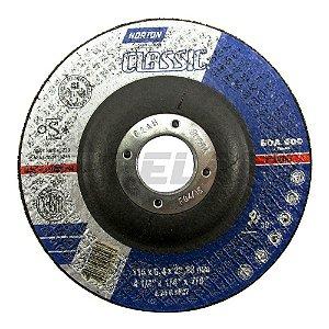 Disco para Desbaste de 4.1/2 x 7/8 Classic - Norton