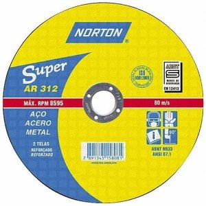 "Disco para Ferro de 7"" x 7/8 AR 312 - Norton"