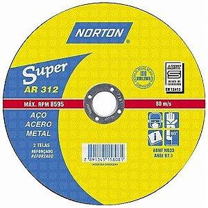 "Disco para Ferro de 9"" x 7/8 AR312 - Norton"