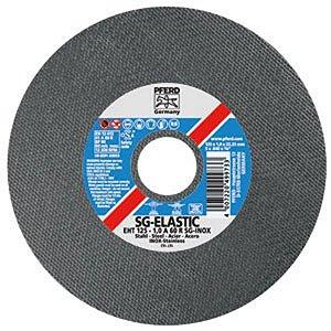 """Disco para Inox de 5"""" x 1,6mm x 7/8 SG-ELIASTIC A46 - Pferd"""