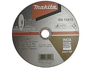 "Disco para Inox de 7"" x 1,6mm x 7/8 B-12267 - Makita"