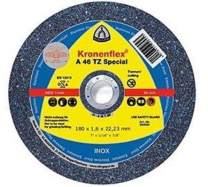 """Disco para Inox de 9"""" x 1,9mm x 7/8 Special Classe Industrial A46TZ - Klingspor"""