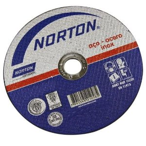 """Disco para Inox de 9"""" x 1,9mm x 7/8 BNA22 - Norton"""