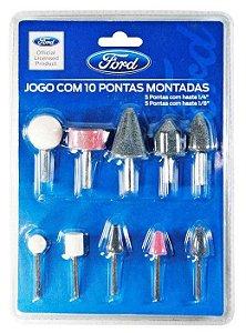 Jogo de Ponta Montada com 10 peças - Ford