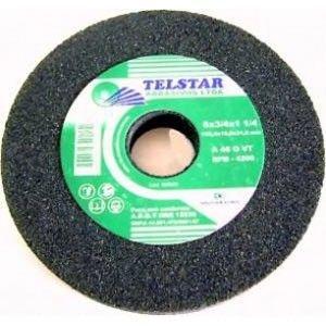 """Rebolo de 6"""" x 1/4 Chanfrado Grana 60 - Telstar"""