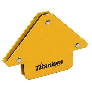 Esquadro Magnético - Titanium