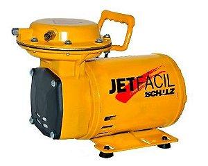 Compressor Ar Direto Jet Fácil Bivolt com Kit Pintura - Schulz