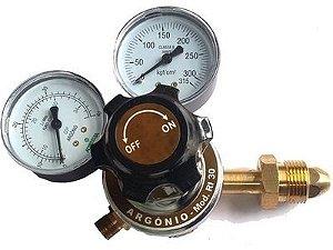 Regulador de Pressão Argônio RI-30 - Aferisolda