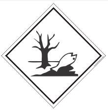 "Placa Simbologia ""Meio Ambiente"" de 30x30cm - Plastcor"