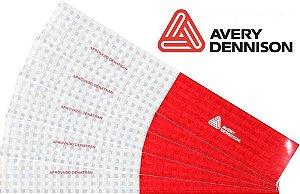 Adesivo Refletivo Faixa  30cm x 5cm - Avery
