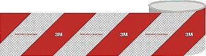 Faixa Refletiva para Parachoque com 2,4 metros x 10cm - 3M