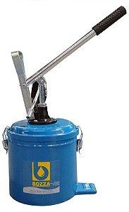 Bomba de Graxa (Engraxadeira) de 7kg Com Compactor - Bozza