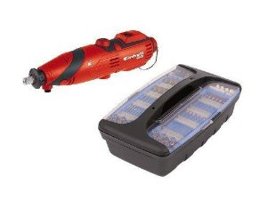 Micro Retifica Elétrica com Maleta Mais 189 Acessórios TH-MG135 - Einhell