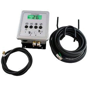Calibrador Eletrônico de Pneus 220v - Premium Box
