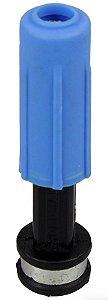Esguicho Lavador em Plástico Azul com Bico de 4.6mm - Hidromar