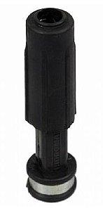 Esguicho Lavador em Plástico Preto com Bico de 3.2mm - Hidromar