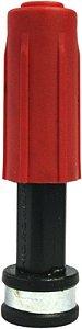 Esguicho Lavador em Plástico Vermelho com Bico de 2.2mm - Hidroma