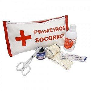 Estojo Kit Primeiros Socorros - Plastcor