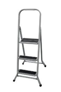 Escada de Aço Residencial de 3 Degraus - Metalmix