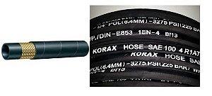 Mangueira para Bomba de Graxa de 1/4 com 15 metros e terminais - Korax