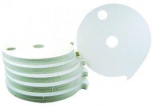 Papelão Filtrante Redondo de 230mm - Commerch