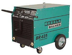 Máquina Transformador de Solda Elétrica BR425 Profissional 220V - Balmer