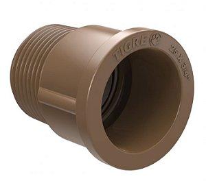 "Conexão Adaptador em PVC de 25mm 3/4"" Rosca / Cola - Tigre"