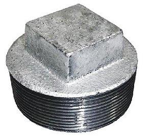 Conexão Plug  Galvanizada (Várias Medidas)