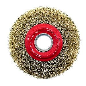 """Escova de Aço Circular de 6"""" x 1"""" - Osborn"""