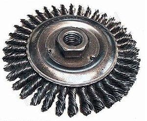 """Escova de Aço Circular Trançada de 4.1/2"""" x M14 - Makita"""