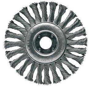 "Escova de Aço Circular Trançada de 4.1/2"" x 1/2"" x 7/8"" - Osborn"