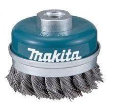 """Escova de Aço para Lixadeira Tipo Copo Trançada de 4"""" - Makita"""