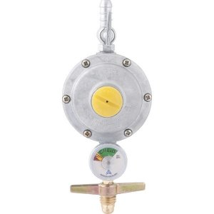 Regulador para Botijão de Gás com Manometro - Aliança