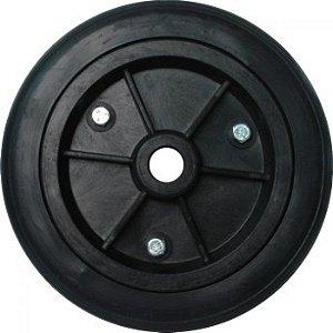 "Roda de Borracha Maciça de 8"" x 3/4"" - GS Car"