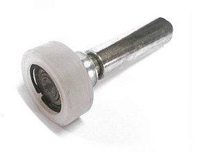 Roldana Guia para Portão de 14 x 48mm com Rolamento - Jocec