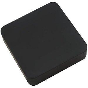 Amortecedor de Borracha Calço de 100 x 100 x 25mm - Vibra-Stop