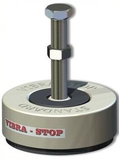 """Amortecedor de Borracha 6000k Standard de 5/8""""- Vibra-Stop"""