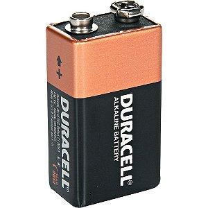 Bateria de 9 volts Alcalina - Duracell