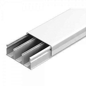 Canaleta Branca com Fita Dupla Face de 40 x 16 x 2000mm - Ilumi