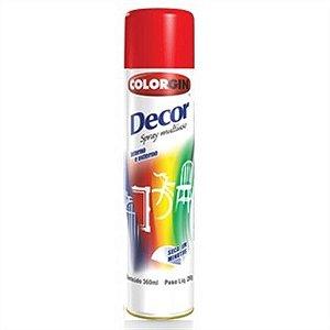 Tinta Spray Vermelho - Colorgin