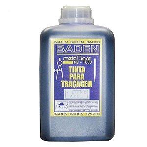 Tinta Para Tracagem 1L  Azul  Metalbase - Baden