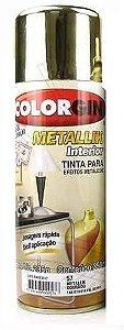 Tinta Spray Dourado Brilhante - Colorgin