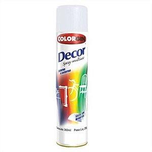 Tinta Spray Branco Fosco - Colorgin