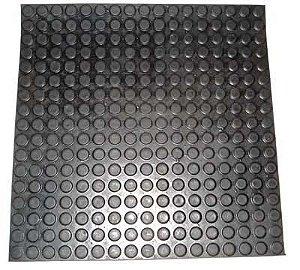 Tapeta de Borracha moeda 50 x 50cm - Brp Plasticos