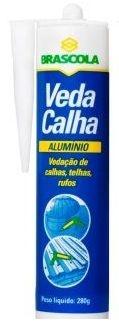 Cola Veda Calha Alumínio 280g - Brascola