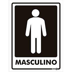Placa 15 X 20 Masculino - encartale